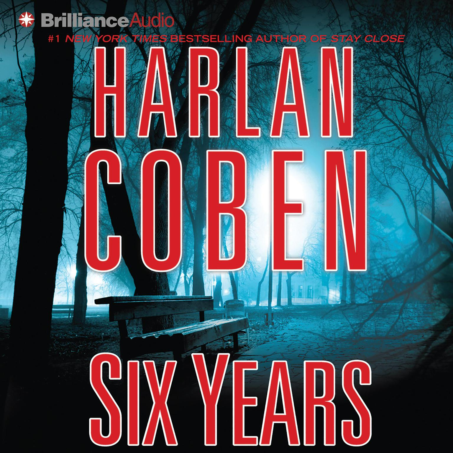 Printable Six Years Audiobook Cover Art