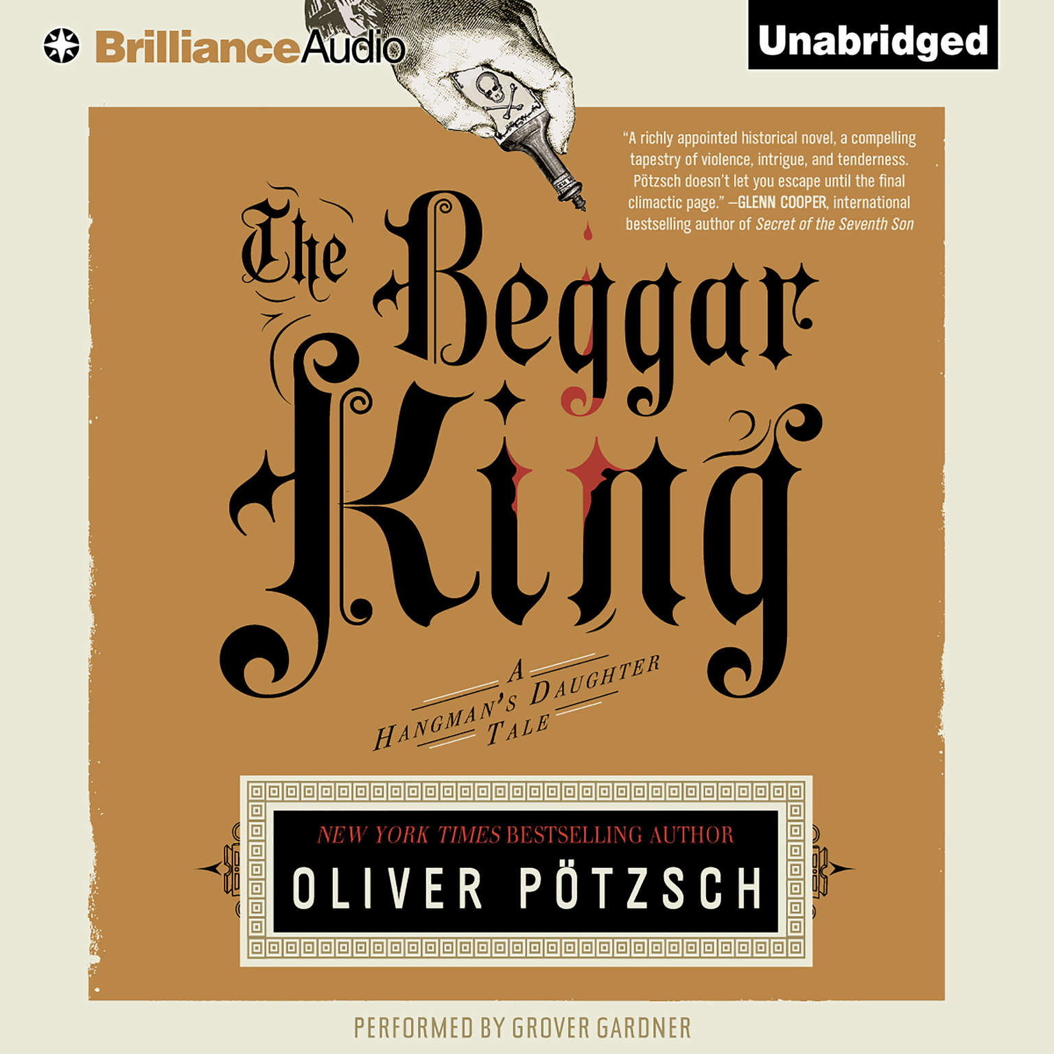 Printable The Beggar King Audiobook Cover Art