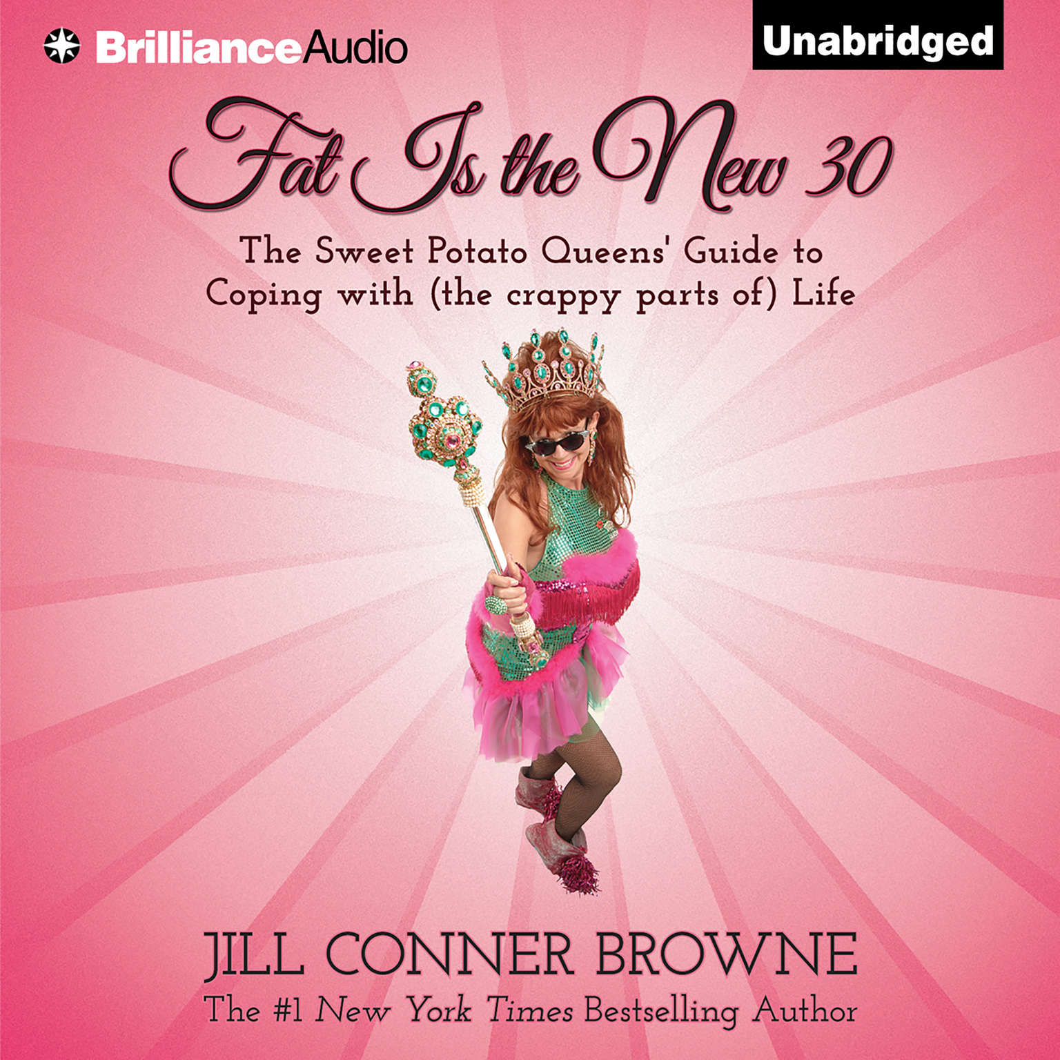 Printable Fat Is the New 30: The Sweet Potato Queens' Guide to Coping with (the crappy parts of) Life Audiobook Cover Art