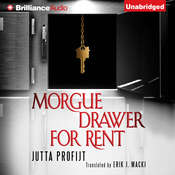 Morgue Drawer for Rent Audiobook, by Jutta Profijt