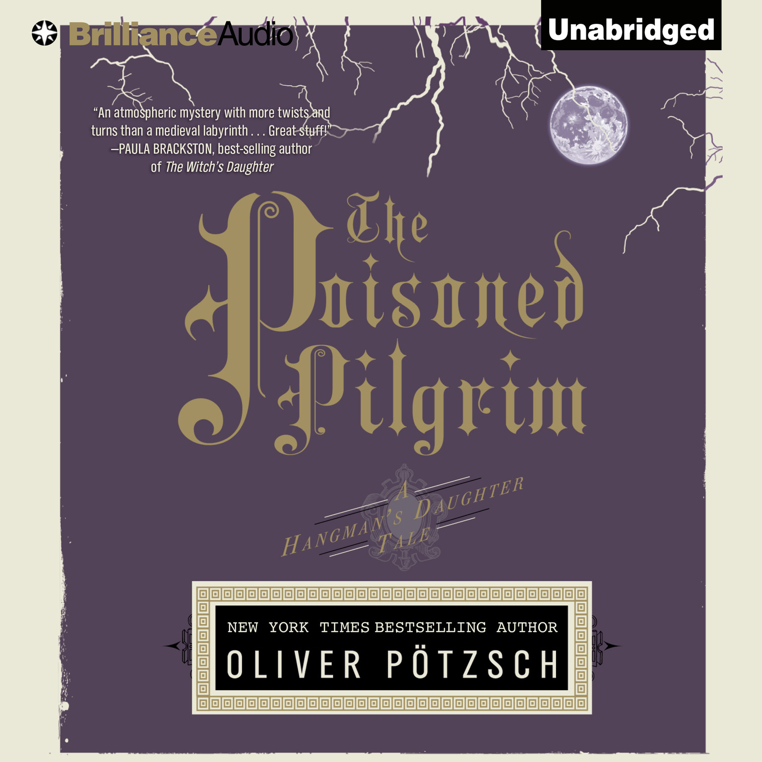 Printable The Poisoned Pilgrim Audiobook Cover Art
