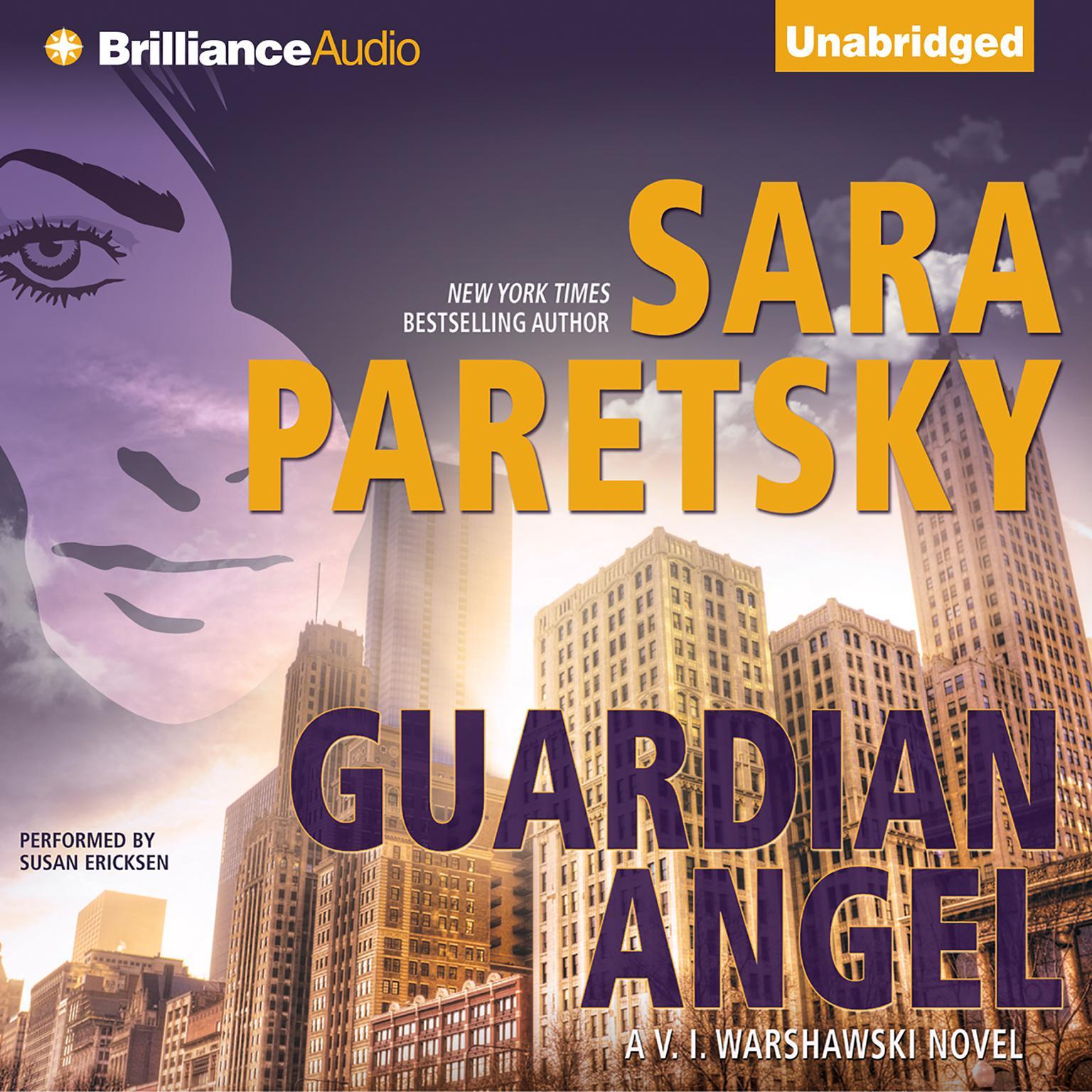 Printable Guardian Angel Audiobook Cover Art