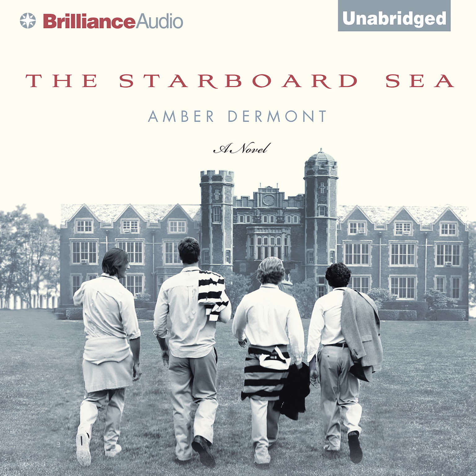 Printable The Starboard Sea Audiobook Cover Art