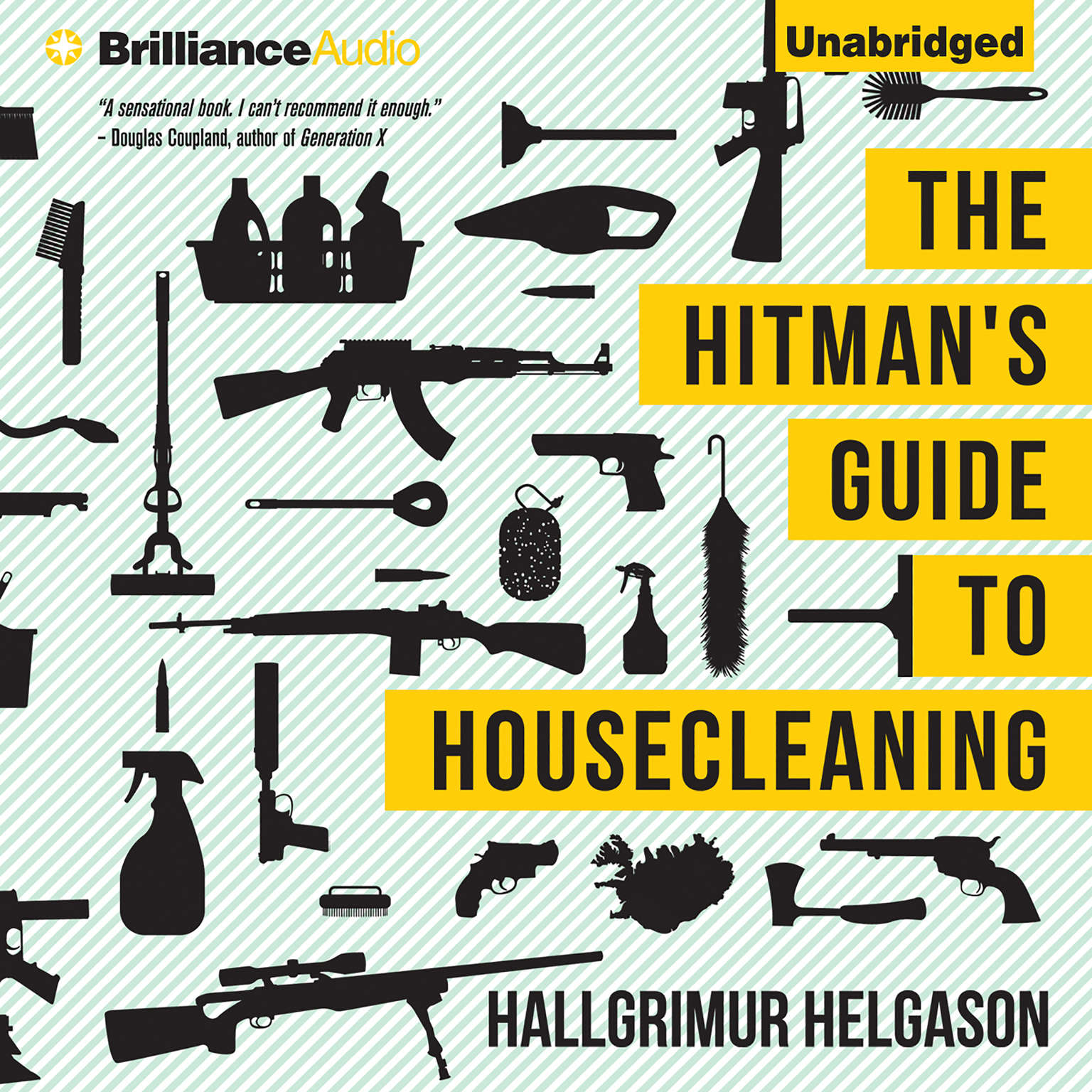 Printable The Hitman's Guide to Housecleaning Audiobook Cover Art