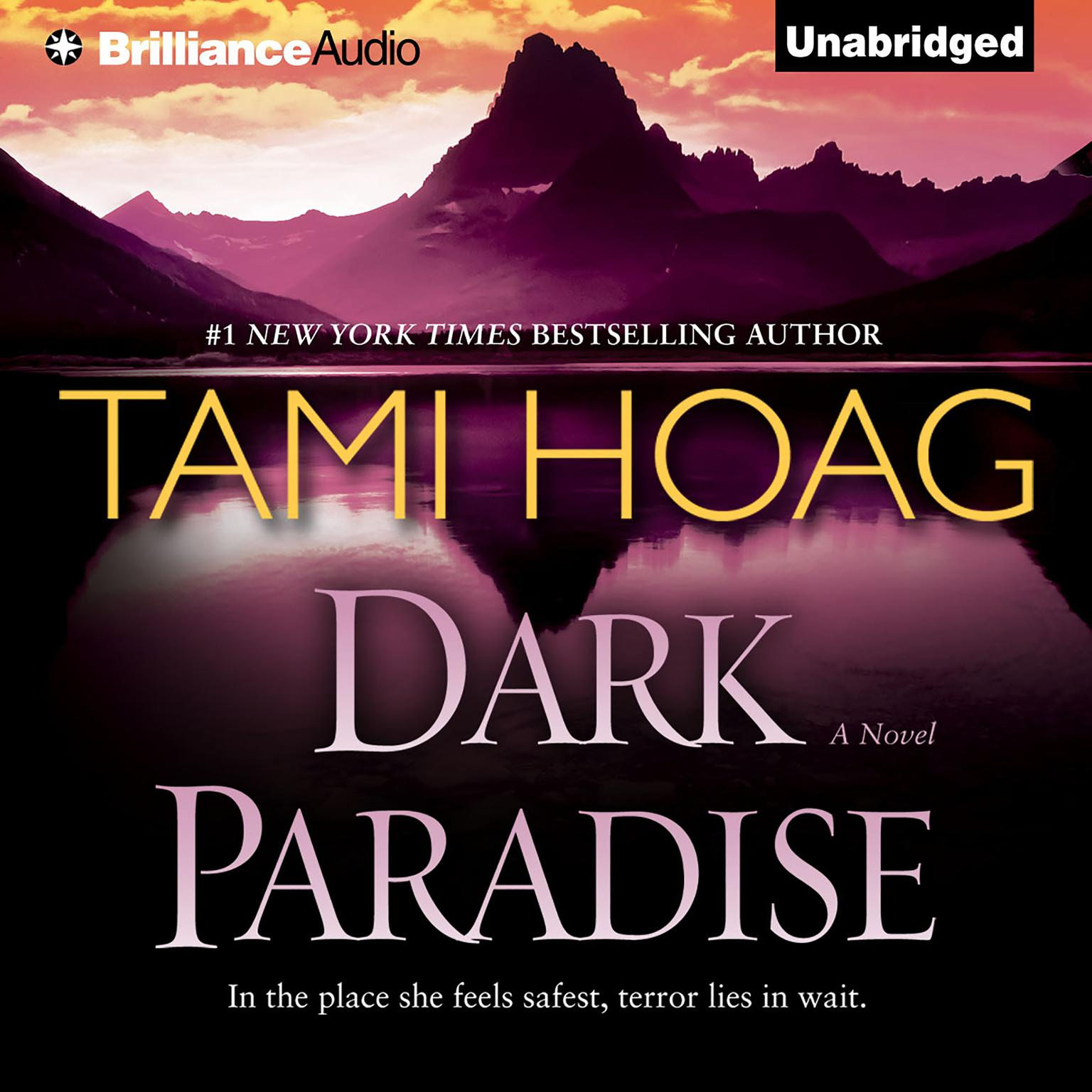 Printable Dark Paradise Audiobook Cover Art