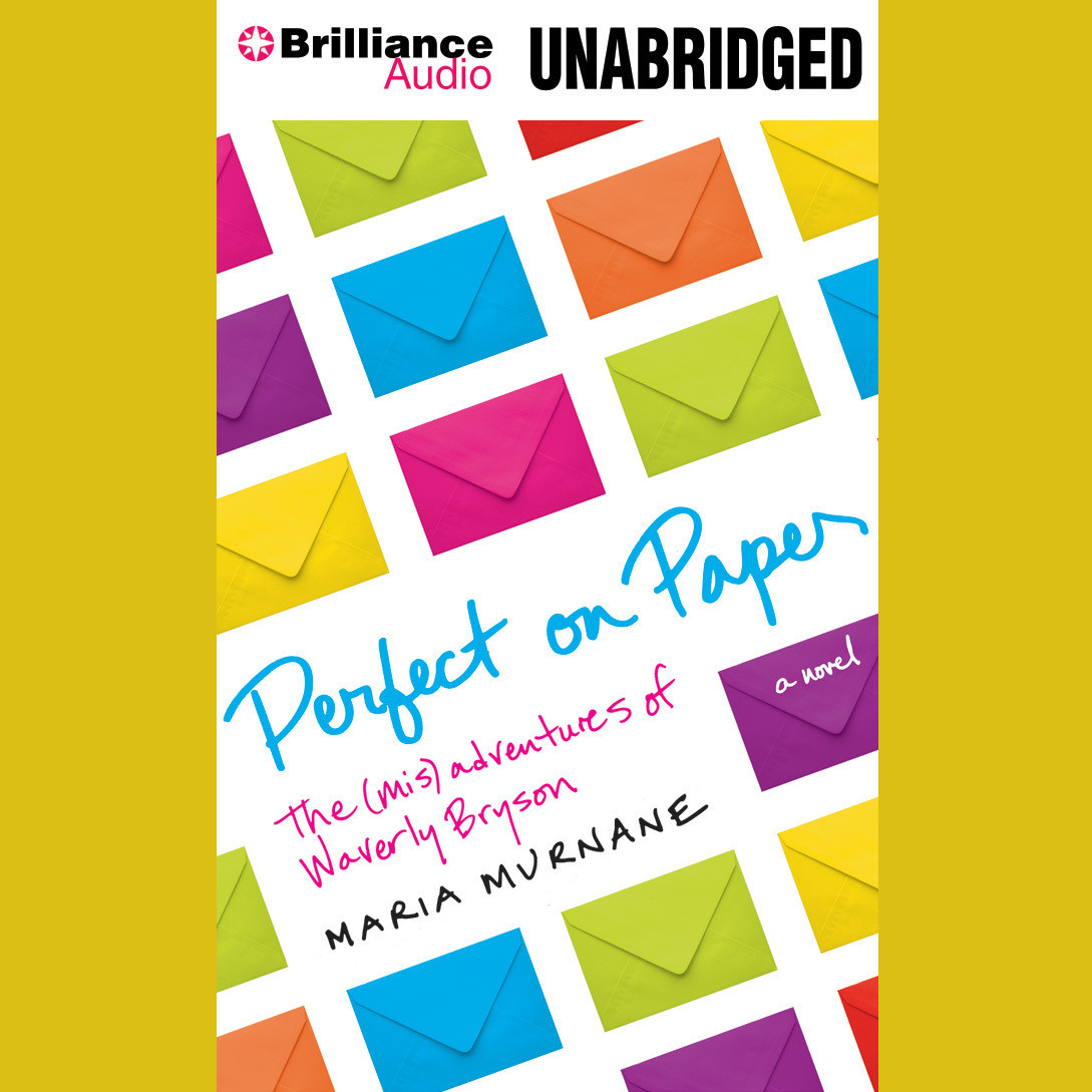 Printable Perfect On Paper: The (Mis)Adventures of Waverly Bryson Audiobook Cover Art