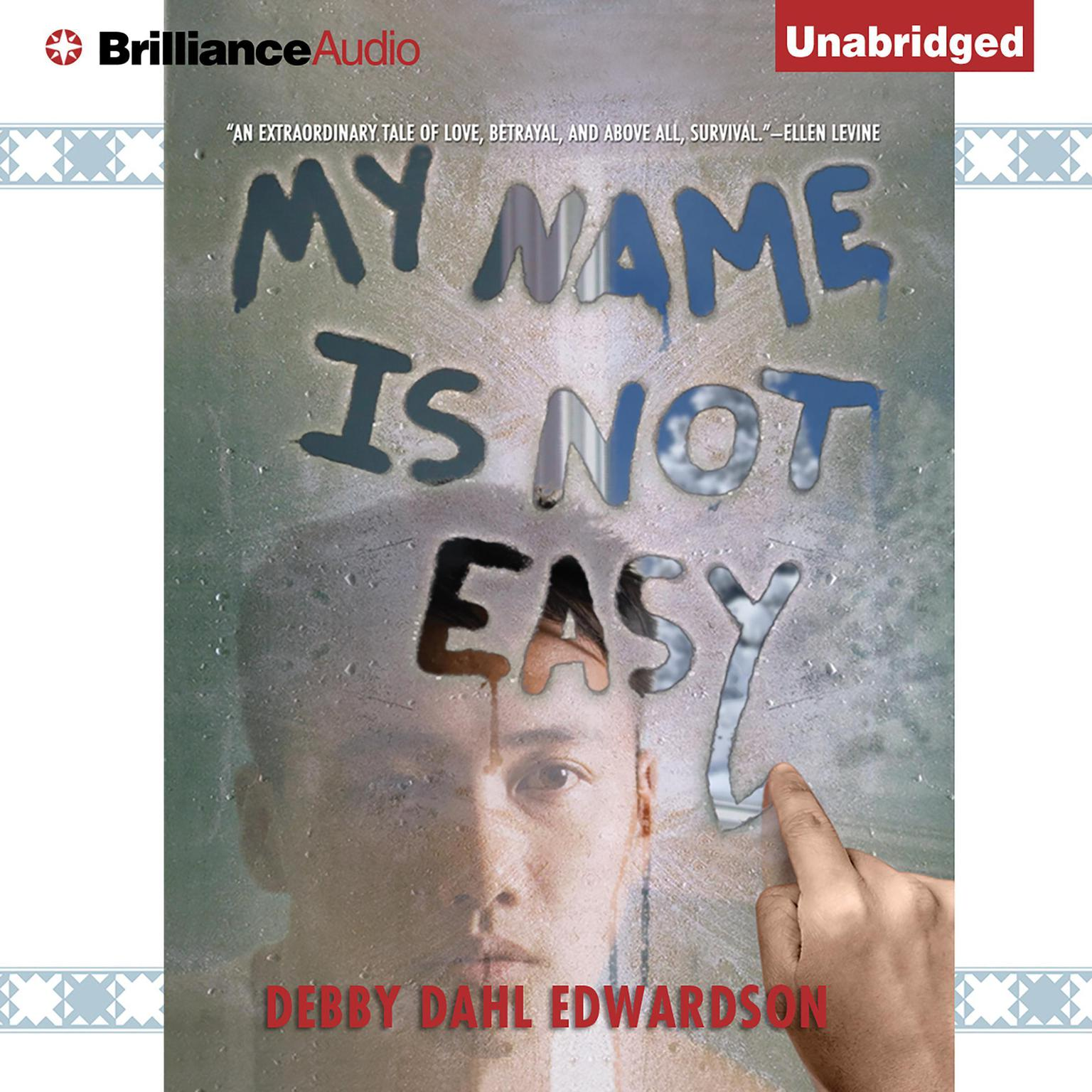 Printable My Name Is Not Easy Audiobook Cover Art