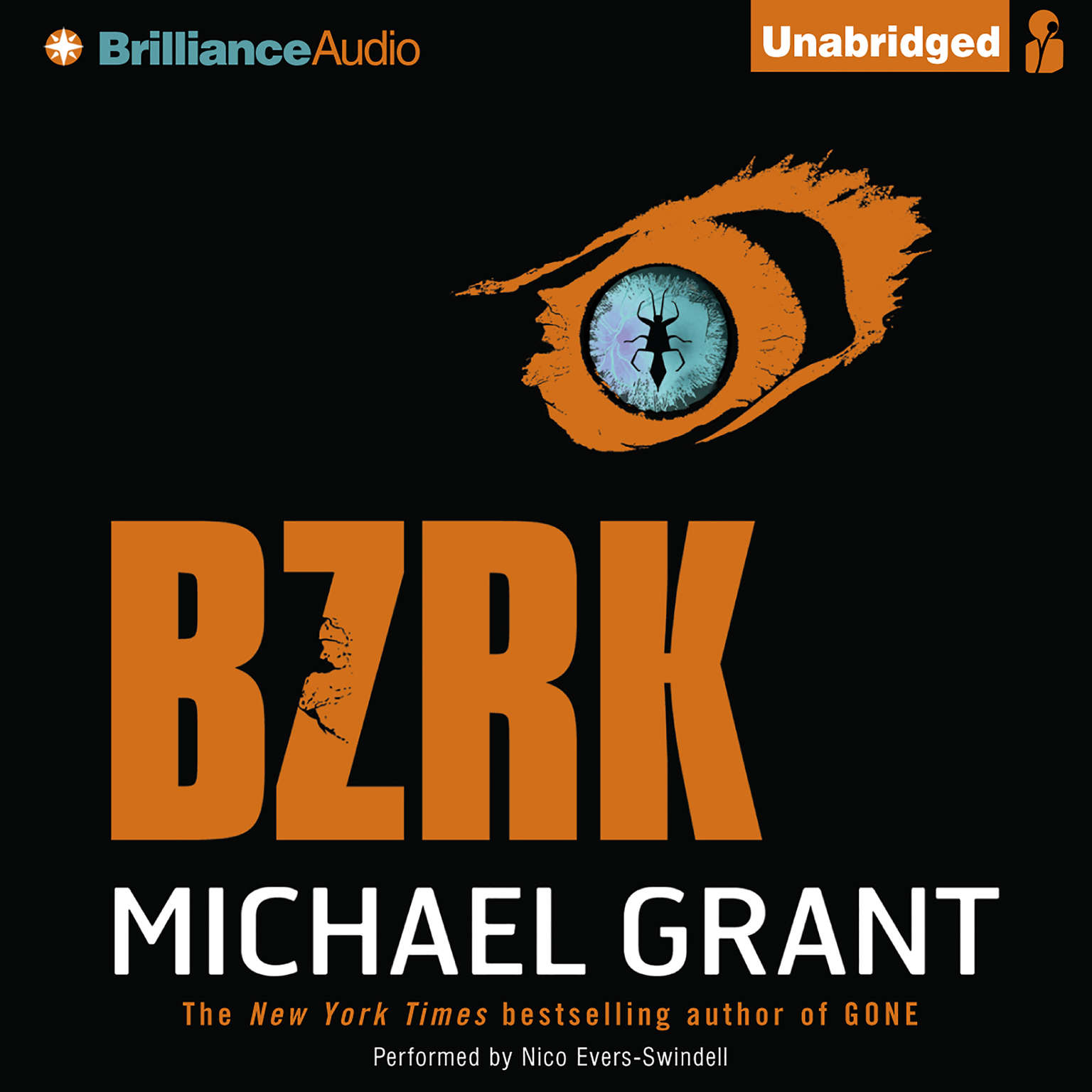 Printable BZRK Audiobook Cover Art