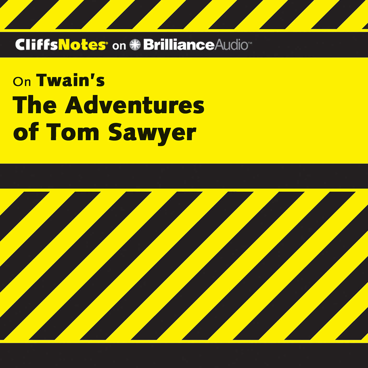 Printable On Twain's The Adventures of Tom Sawyer Audiobook Cover Art