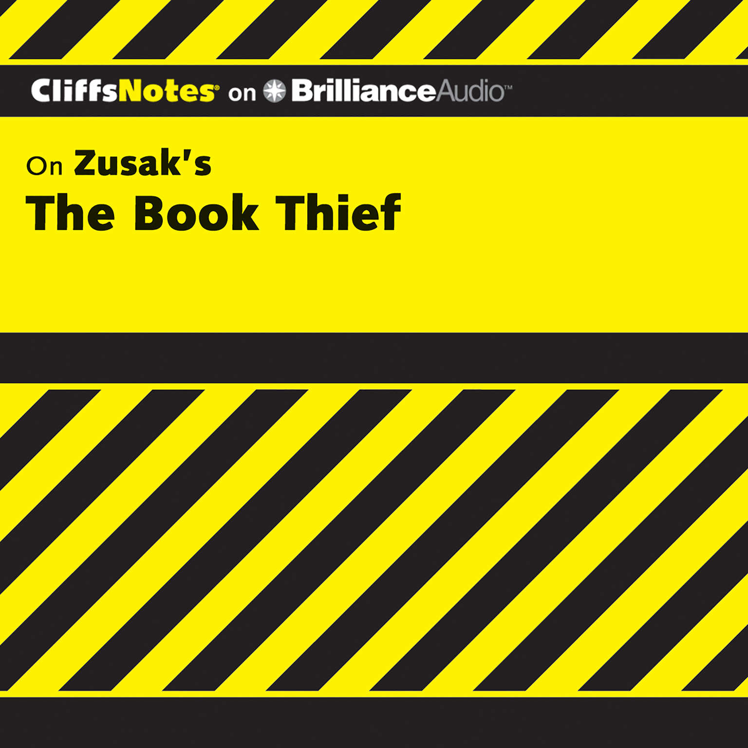 Printable On Zusak's The Book Thief Audiobook Cover Art