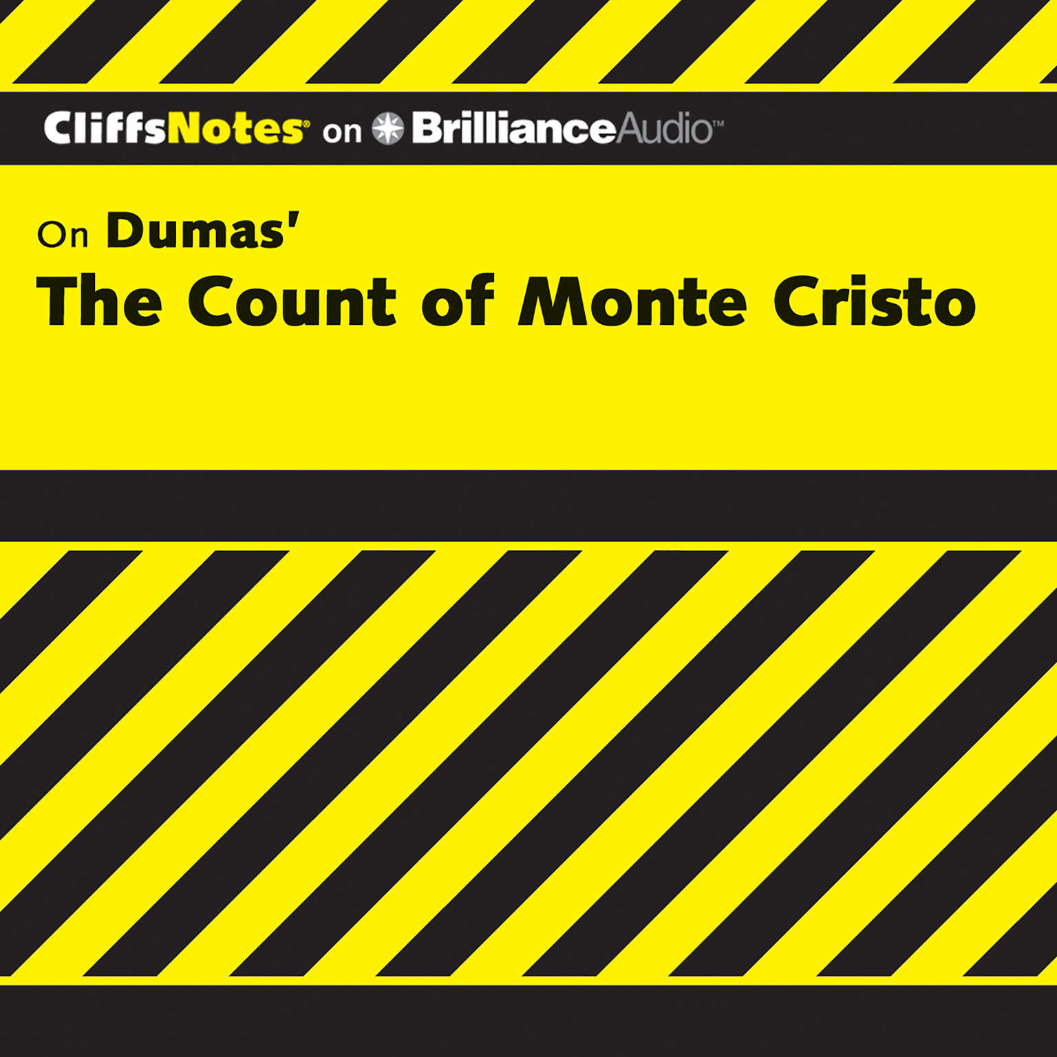 Printable On Dumas's The Count of Monte Cristo Audiobook Cover Art