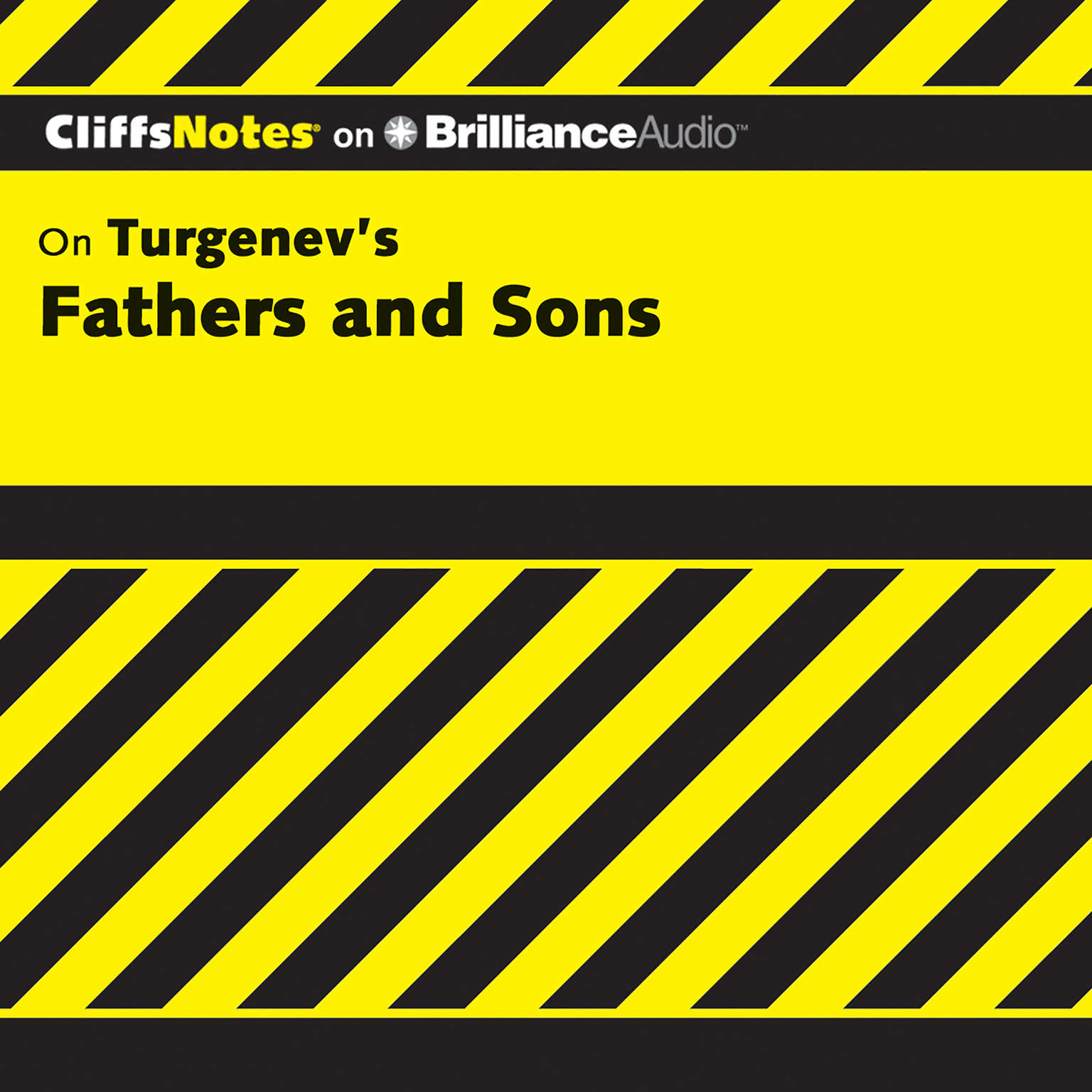 Printable Fathers and Sons Audiobook Cover Art