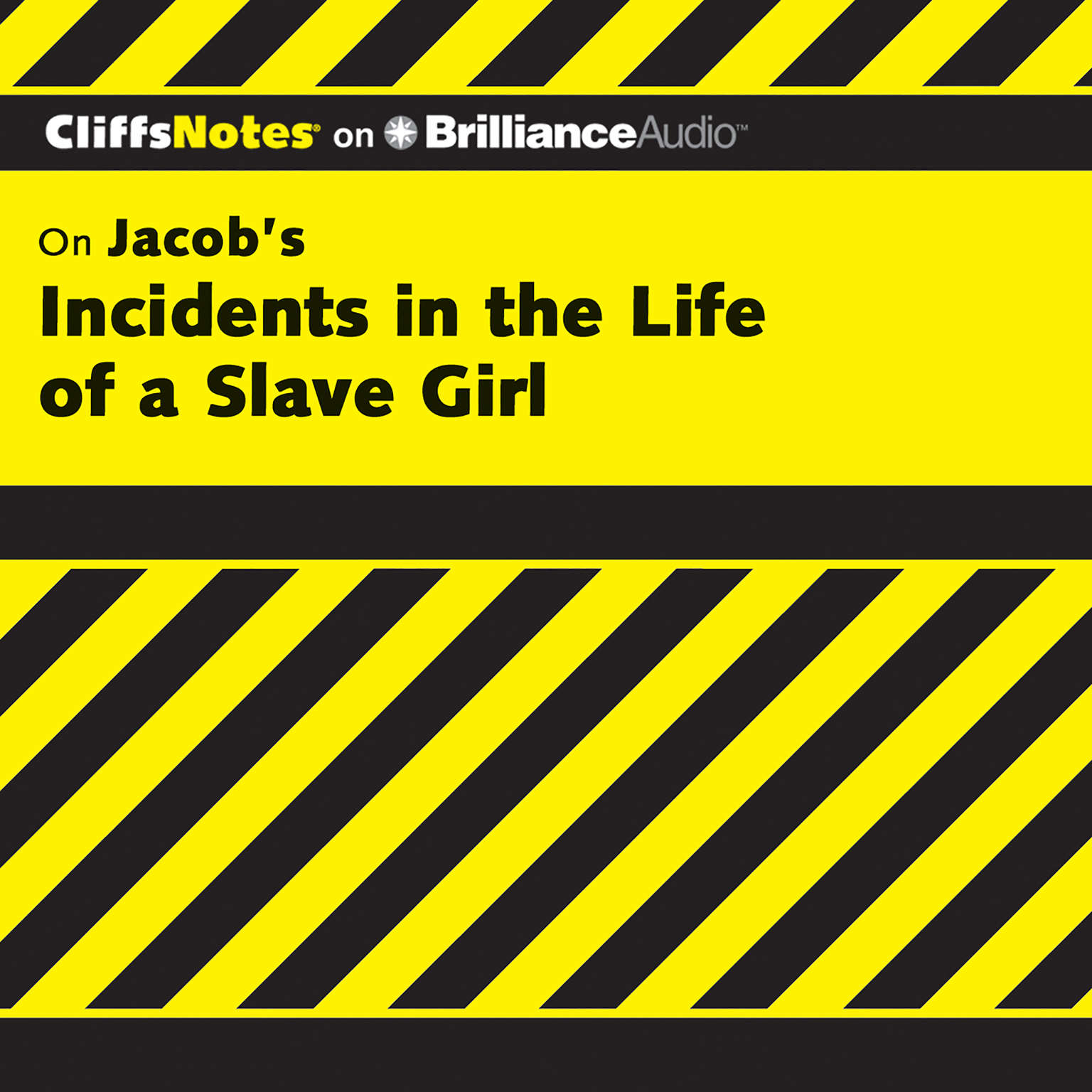 Printable On Jacob's Incidents in the Life of a Slave Girl Audiobook Cover Art