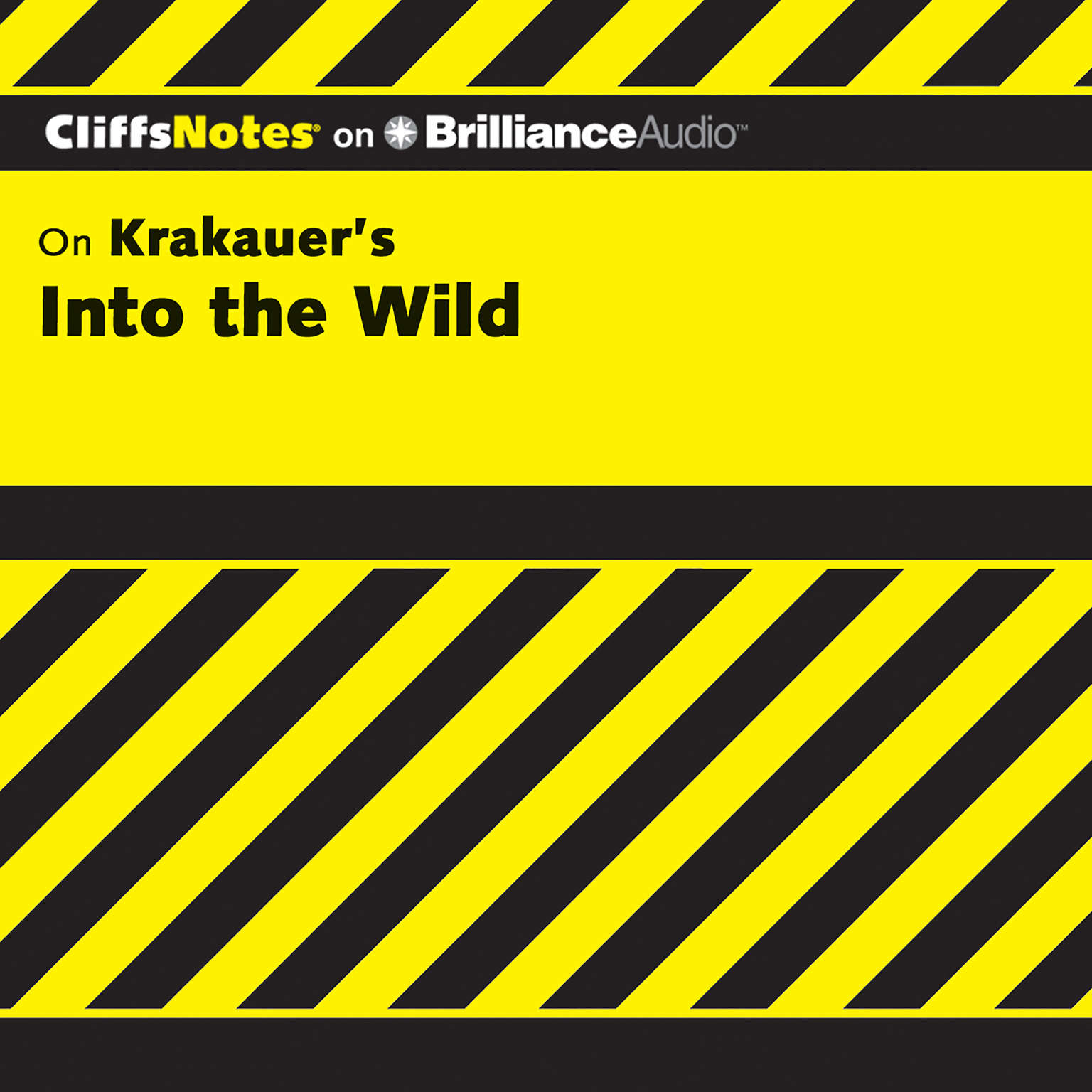 Printable On Krakauer's Into the Wild Audiobook Cover Art