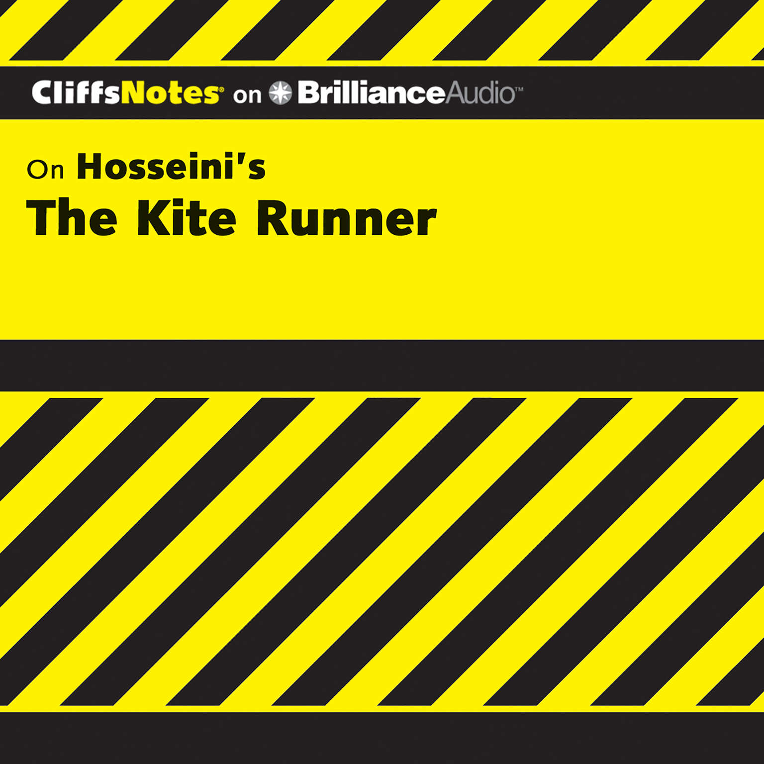 Printable On Hosseini's The Kite Runner Audiobook Cover Art