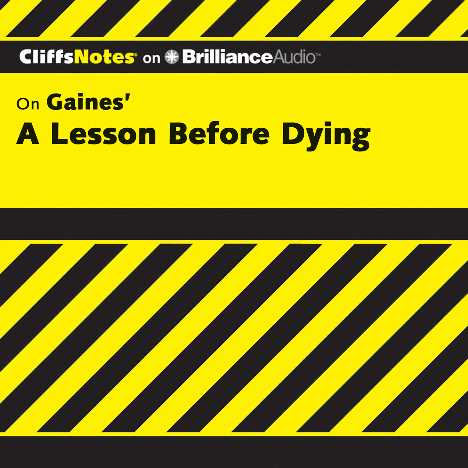 Printable A Lesson Before Dying Audiobook Cover Art