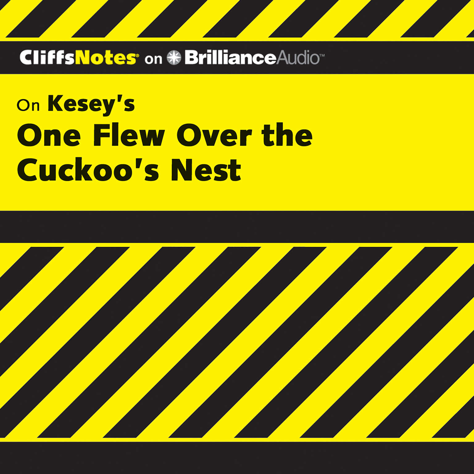 Printable On Kesey's One Flew Over the Cuckoo's Nest Audiobook Cover Art