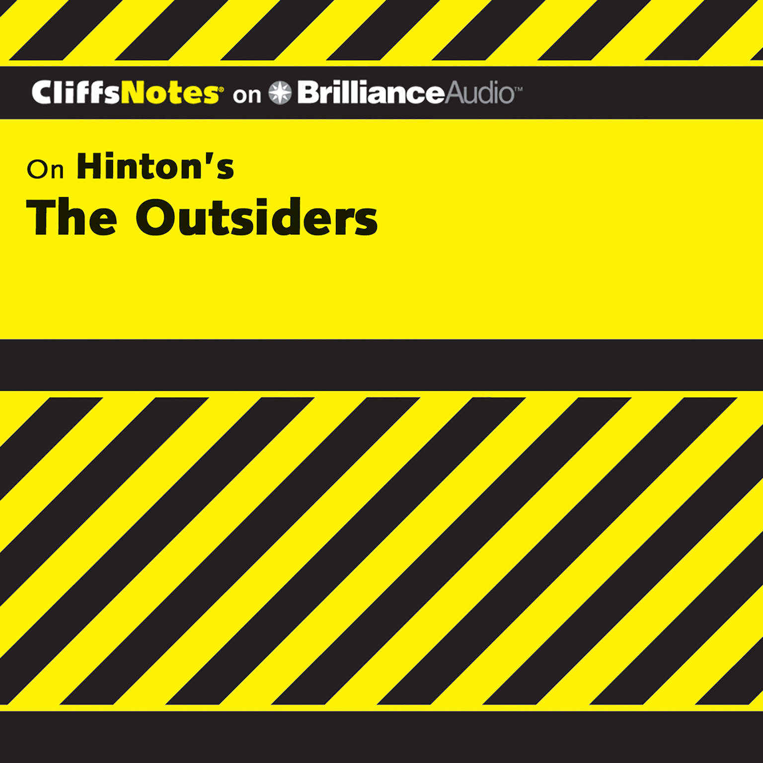 Printable On Hinton's The Outsiders Audiobook Cover Art