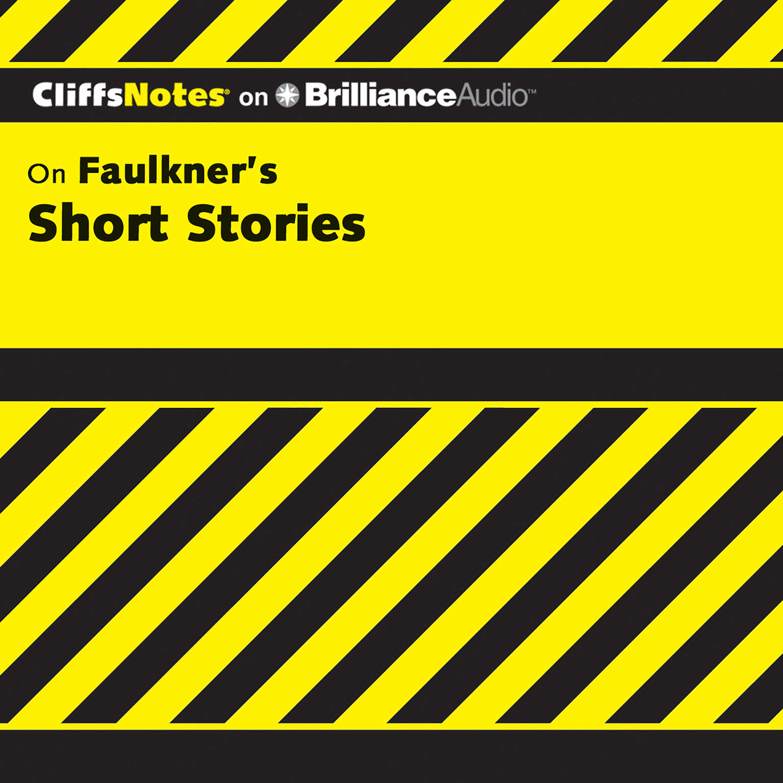 Printable On Faulkner's Short Stories Audiobook Cover Art