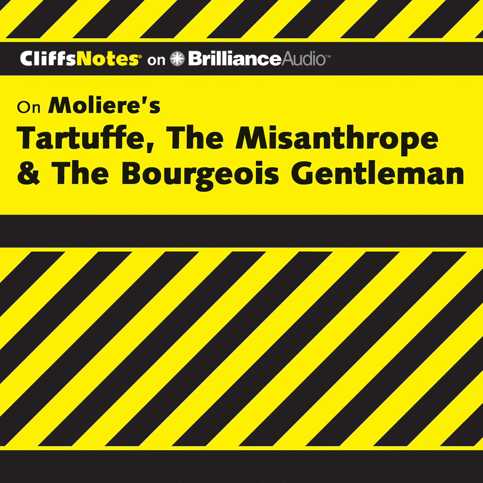 Printable On Moliere's Tartuffe, The Misanthrope, & The Bourgeois Gentleman Audiobook Cover Art