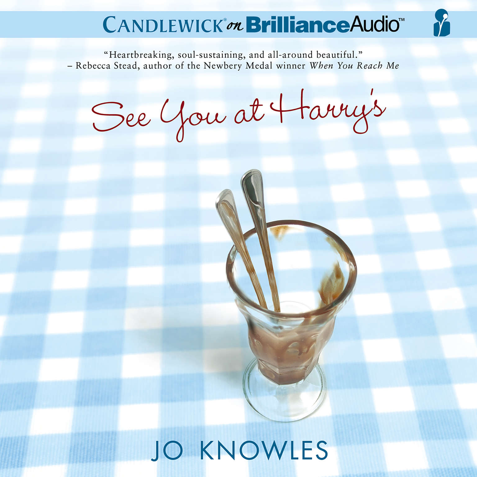 Printable See You at Harry's Audiobook Cover Art