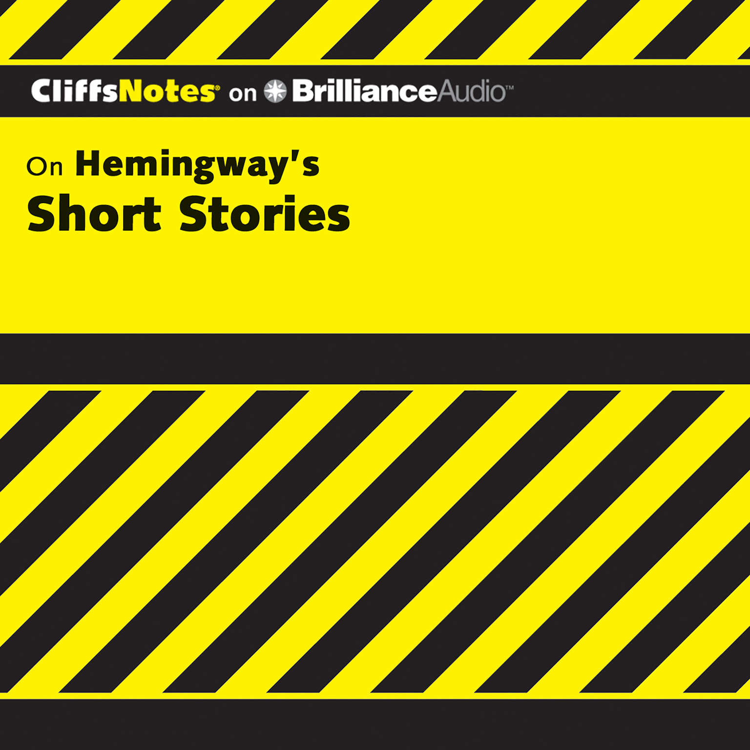 Printable Hemingway's Short Stories Audiobook Cover Art