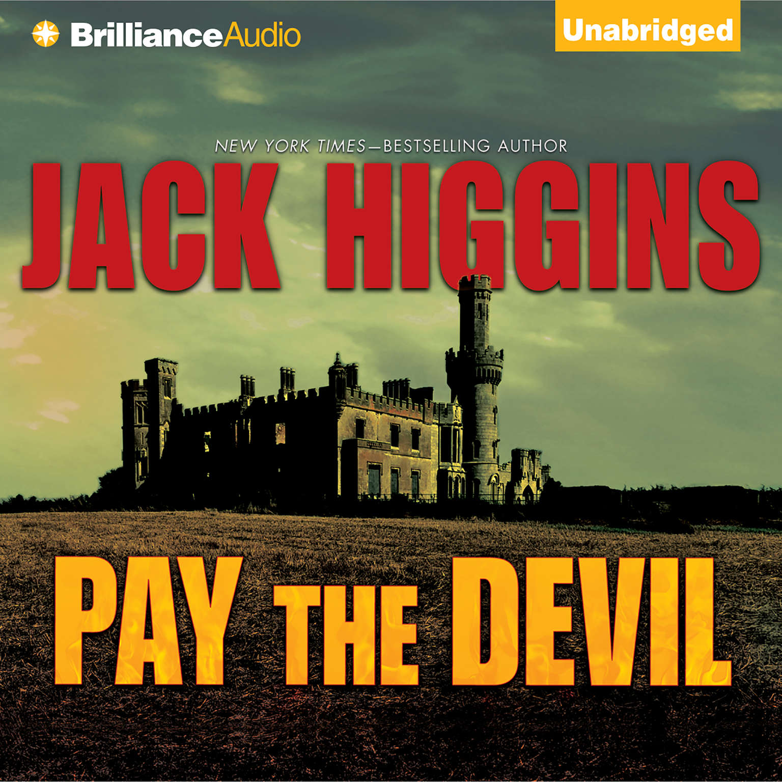 Printable Pay the Devil Audiobook Cover Art