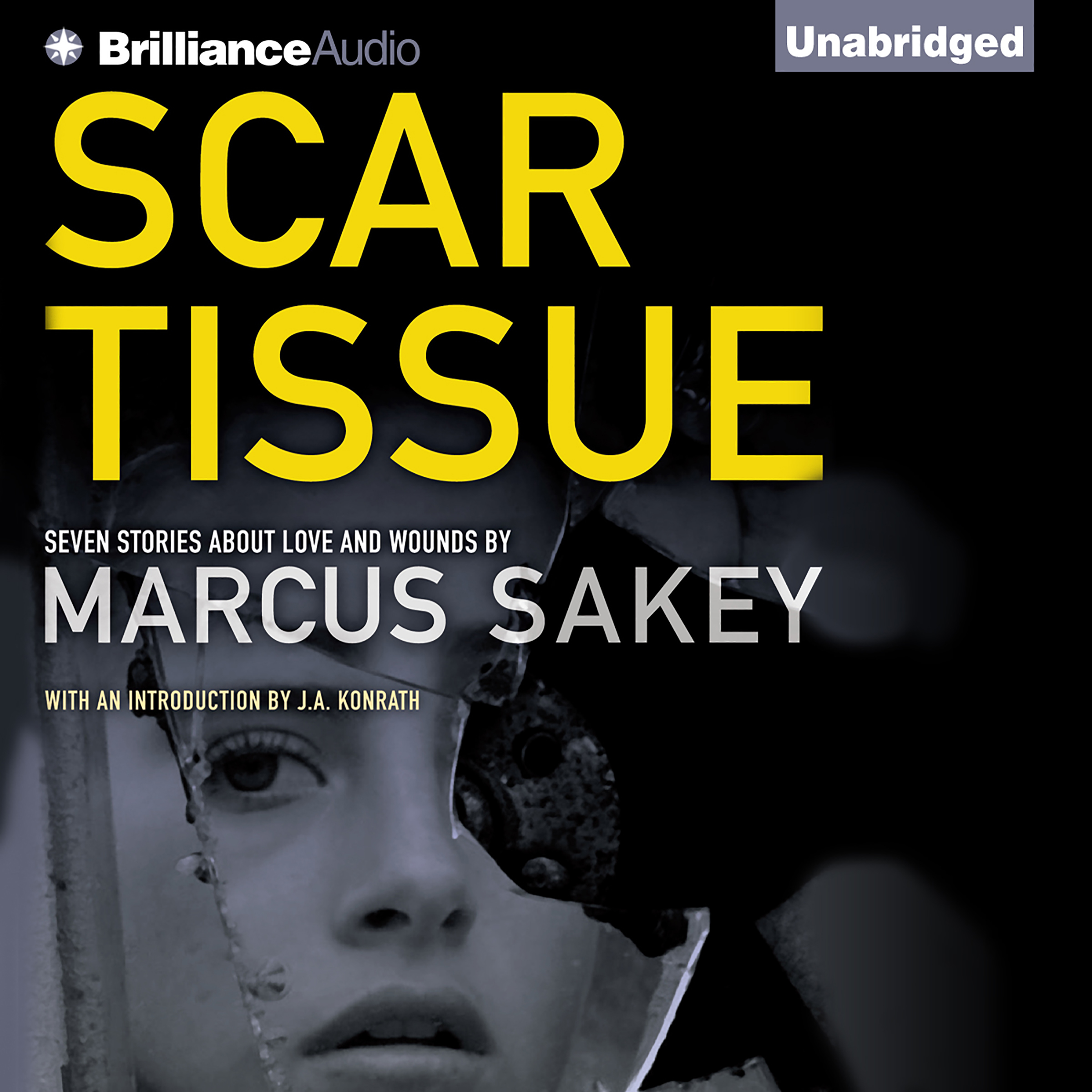 Printable Scar Tissue: Seven Stories of Love and Wounds Audiobook Cover Art