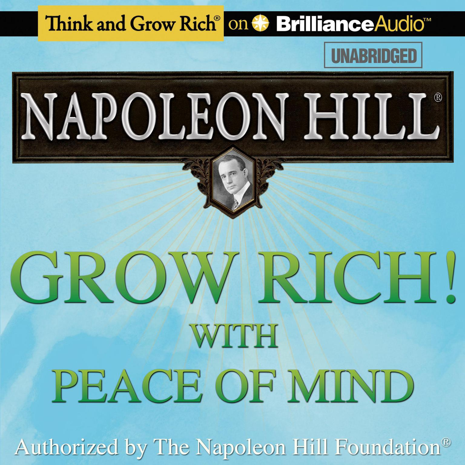Printable Grow Rich! With Peace of Mind Audiobook Cover Art