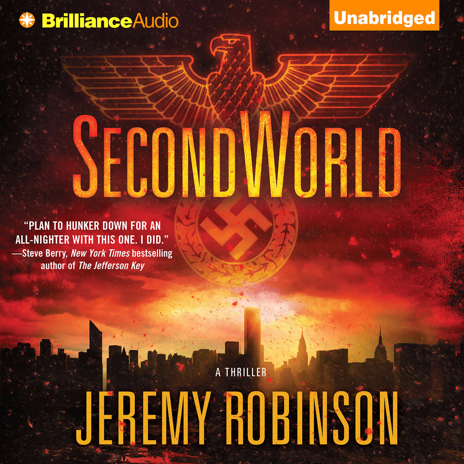 Printable SecondWorld Audiobook Cover Art