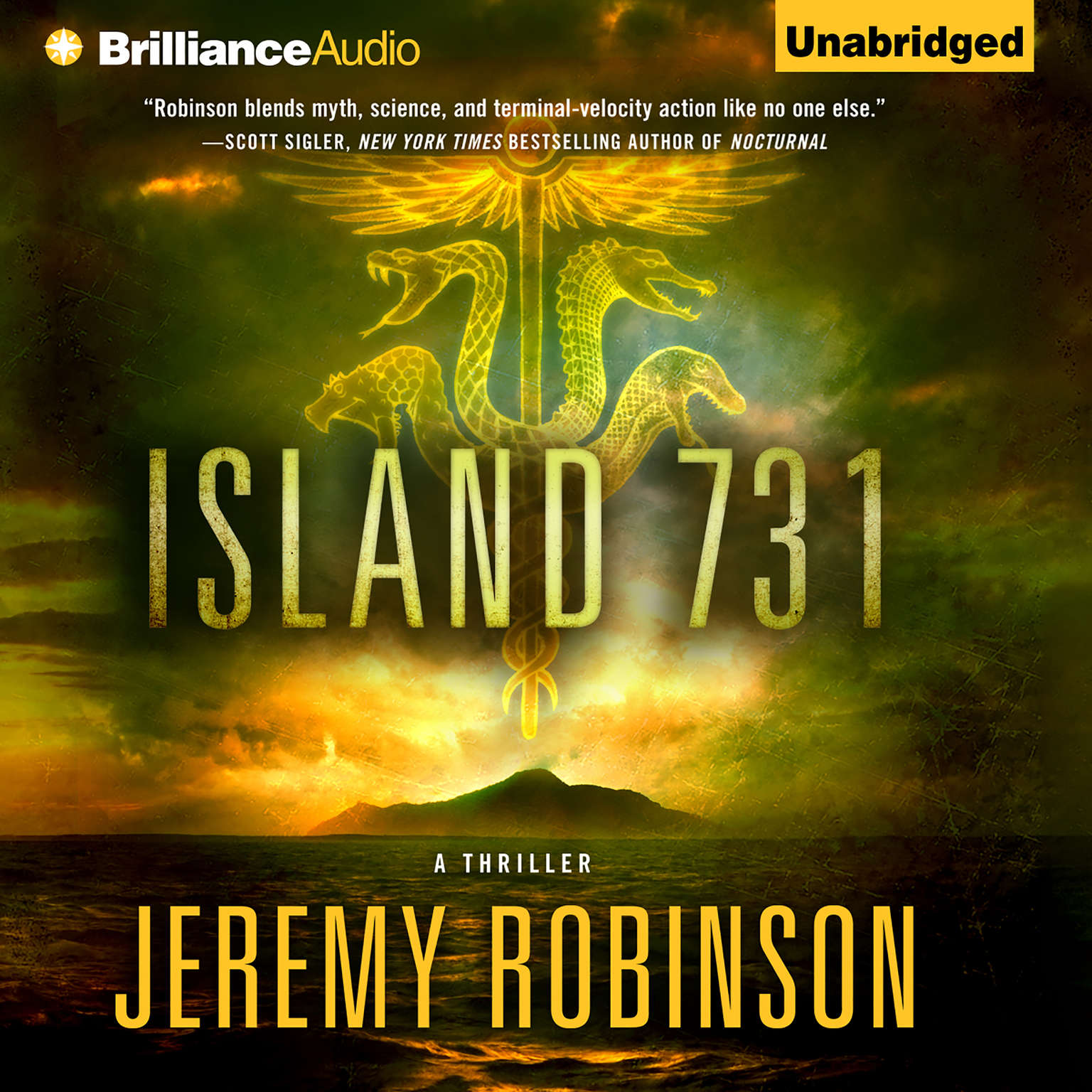 Printable Island 731 Audiobook Cover Art