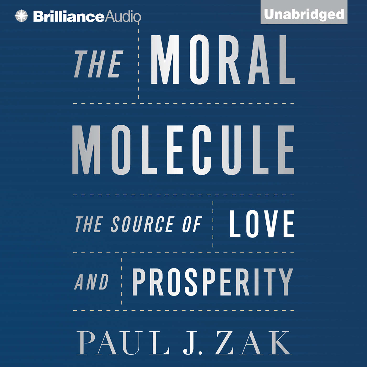 Printable The Moral Molecule: The Source of Love and Prosperity Audiobook Cover Art