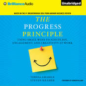 The Progress Principle: Using Small Wins to Ignite Joy, Engagement, and Creativity at Work, by Steven Kramer, Teresa Amabile