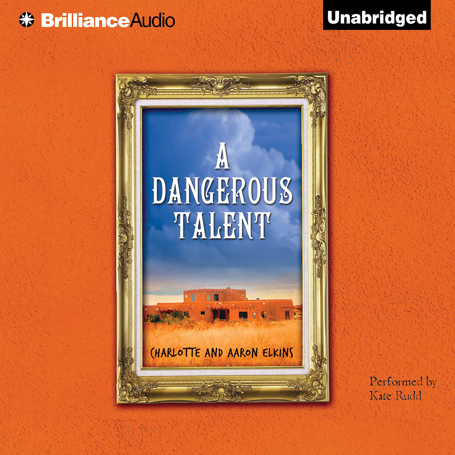 Printable A Dangerous Talent Audiobook Cover Art