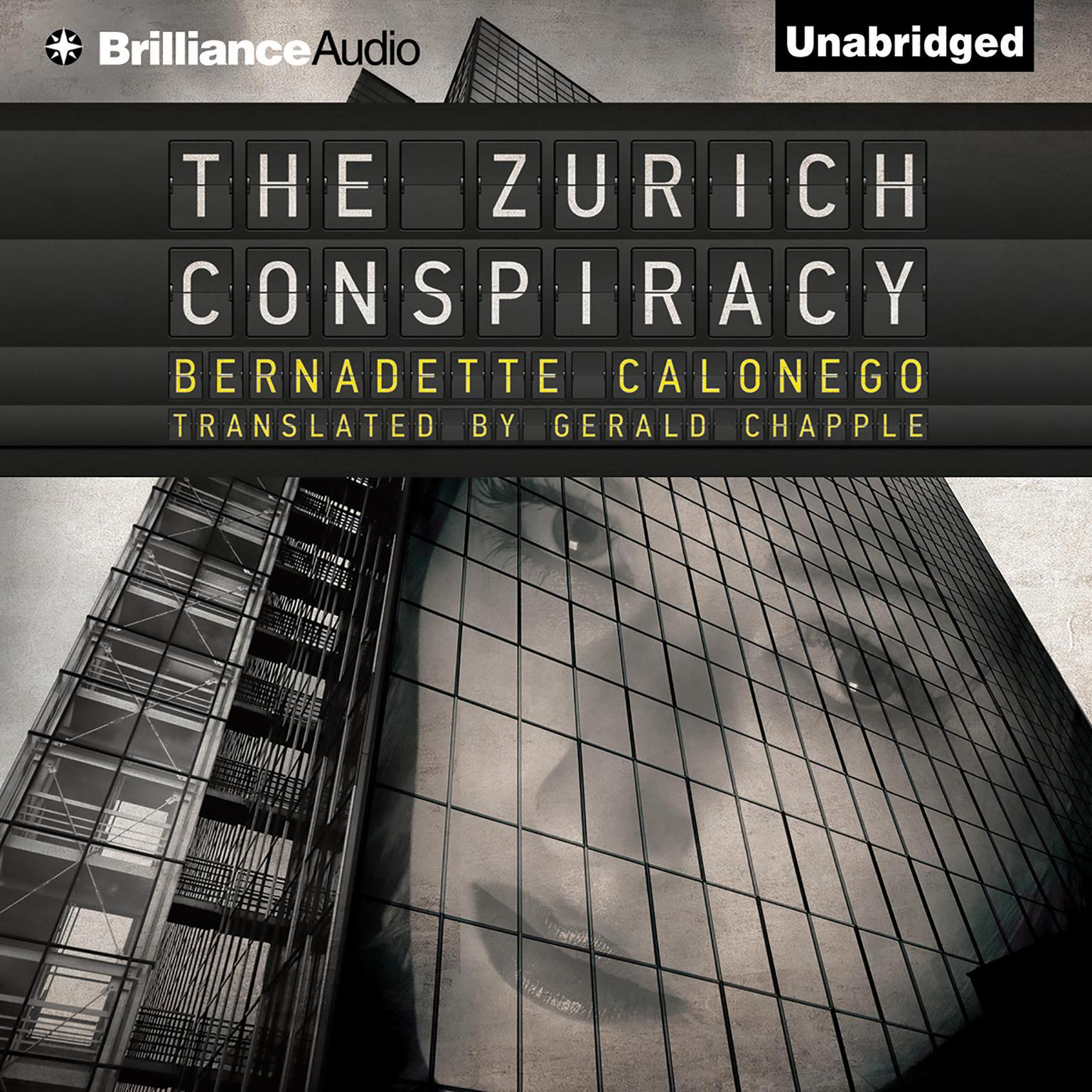 Printable The Zurich Conspiracy Audiobook Cover Art