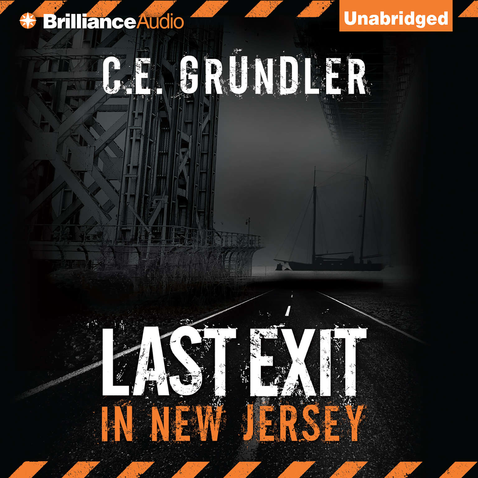 Printable Last Exit in New Jersey Audiobook Cover Art