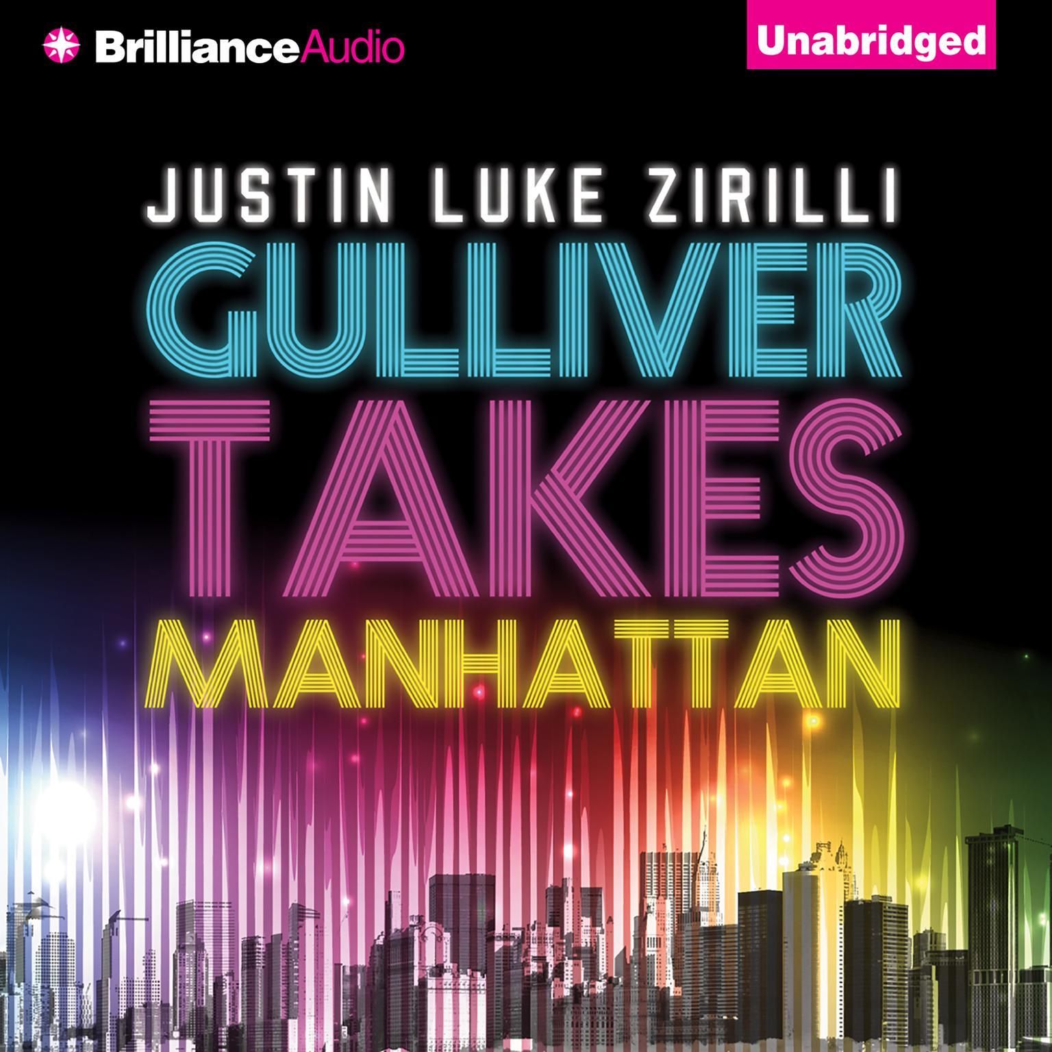 Printable Gulliver Takes Manhattan Audiobook Cover Art