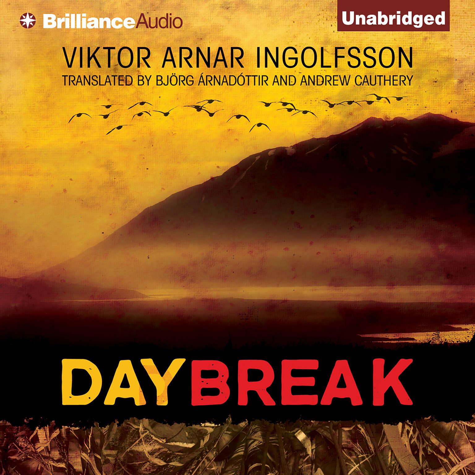 Printable Daybreak Audiobook Cover Art