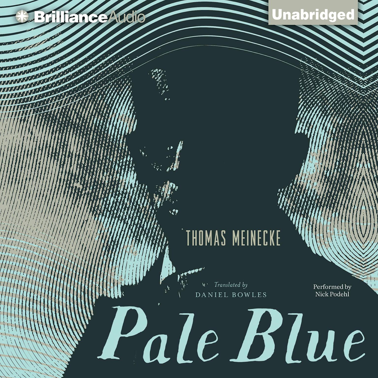 Printable Pale Blue Audiobook Cover Art