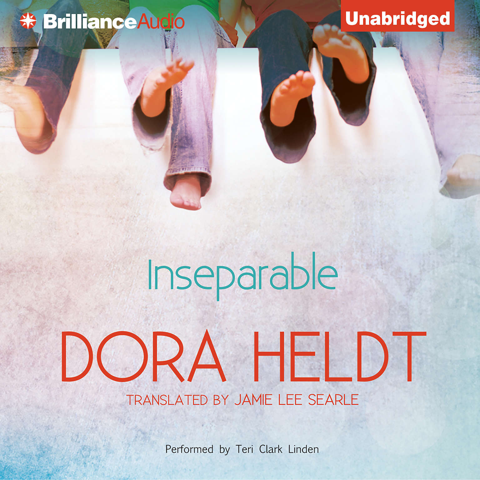 Printable Inseparable Audiobook Cover Art