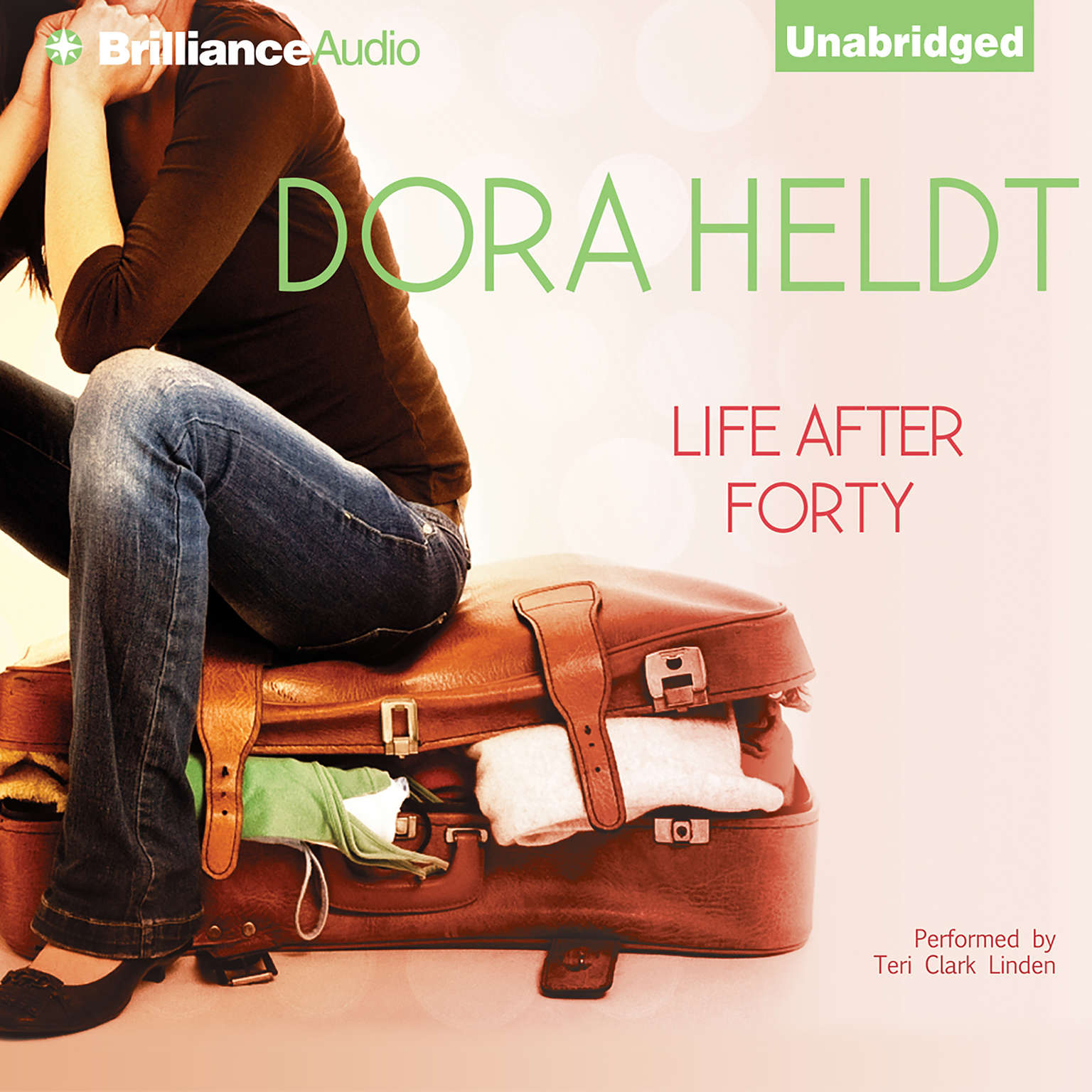 Printable Life after Forty Audiobook Cover Art