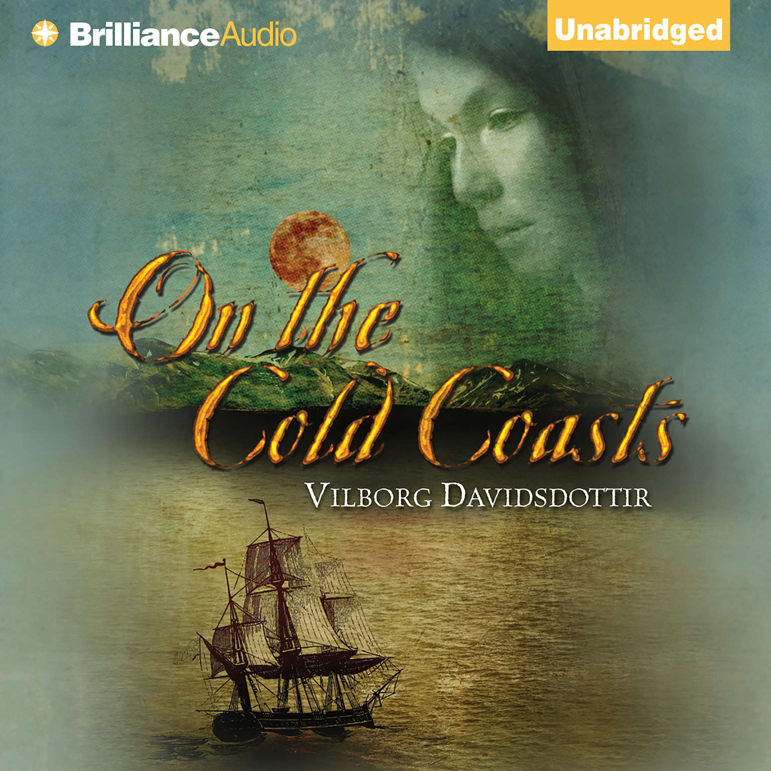 Printable On the Cold Coasts Audiobook Cover Art