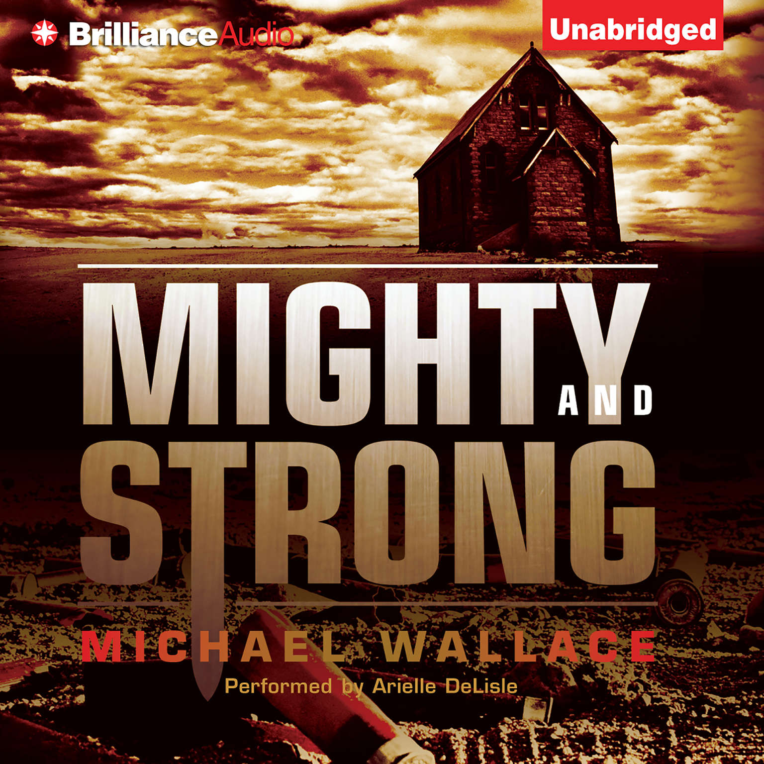 Printable Mighty and Strong Audiobook Cover Art