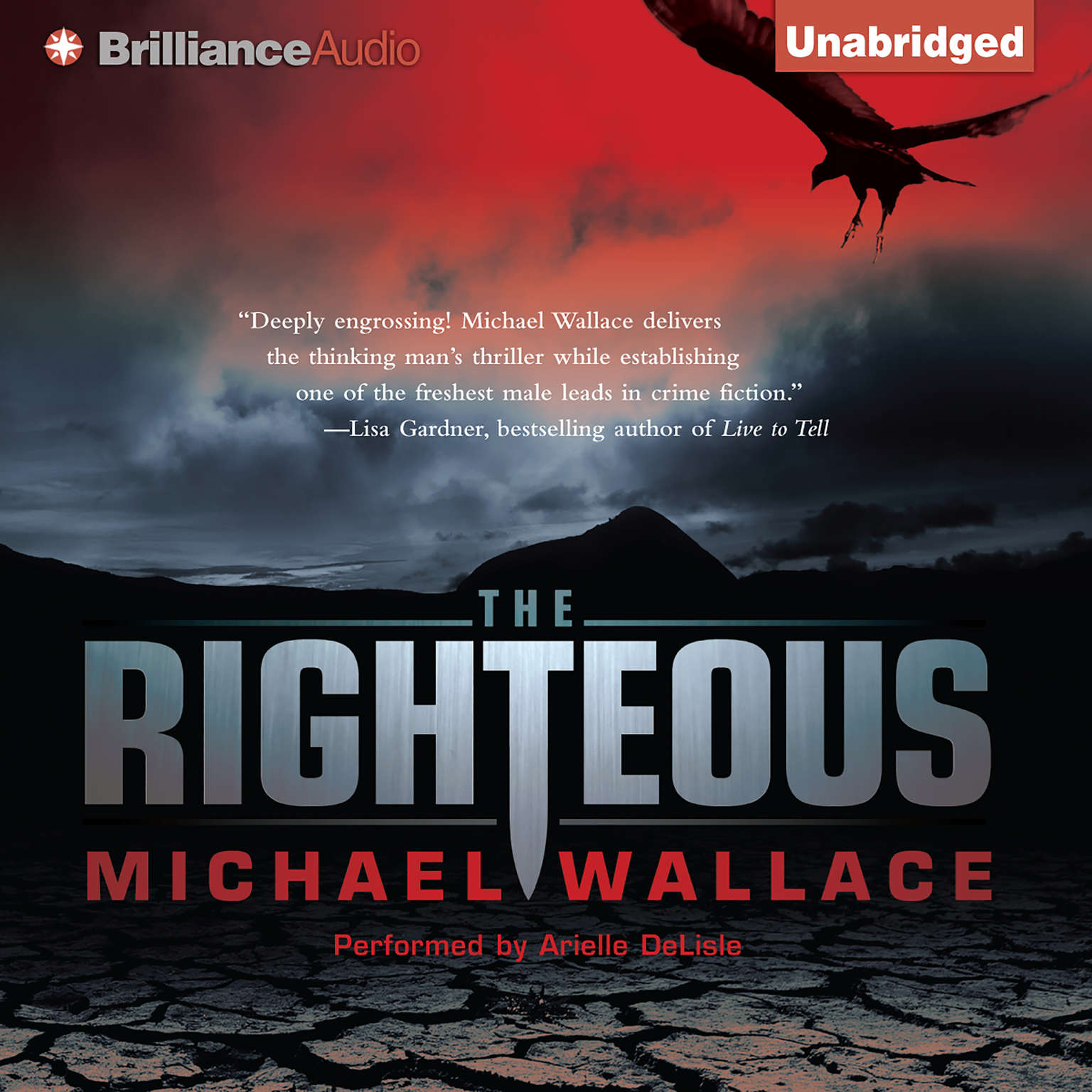 Printable The Righteous Audiobook Cover Art
