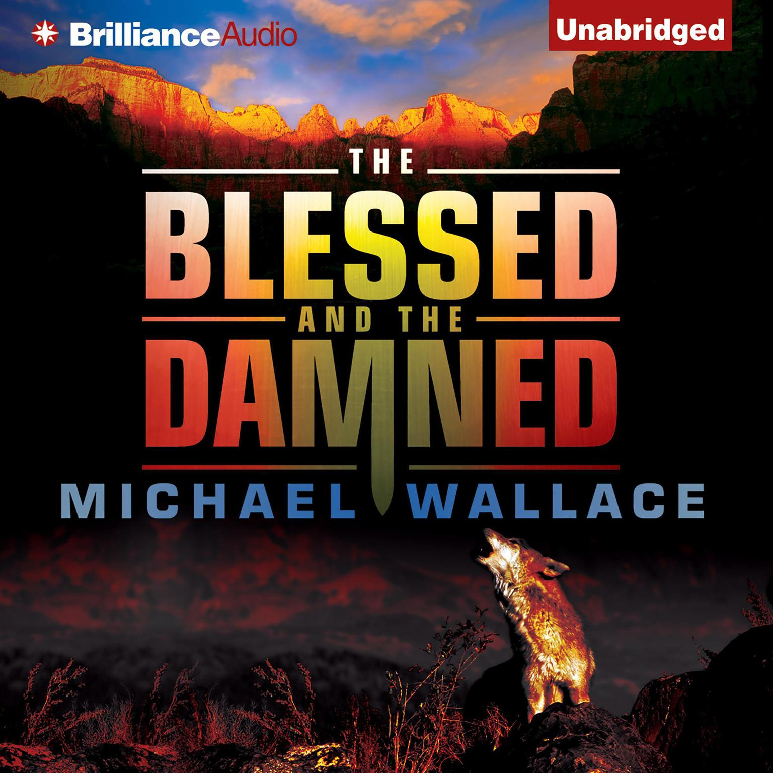 Printable The Blessed and the Damned Audiobook Cover Art