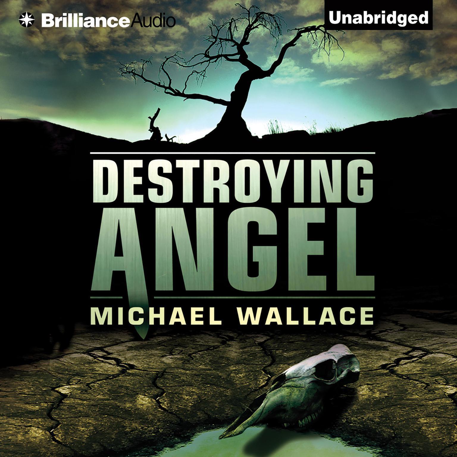 Printable Destroying Angel Audiobook Cover Art