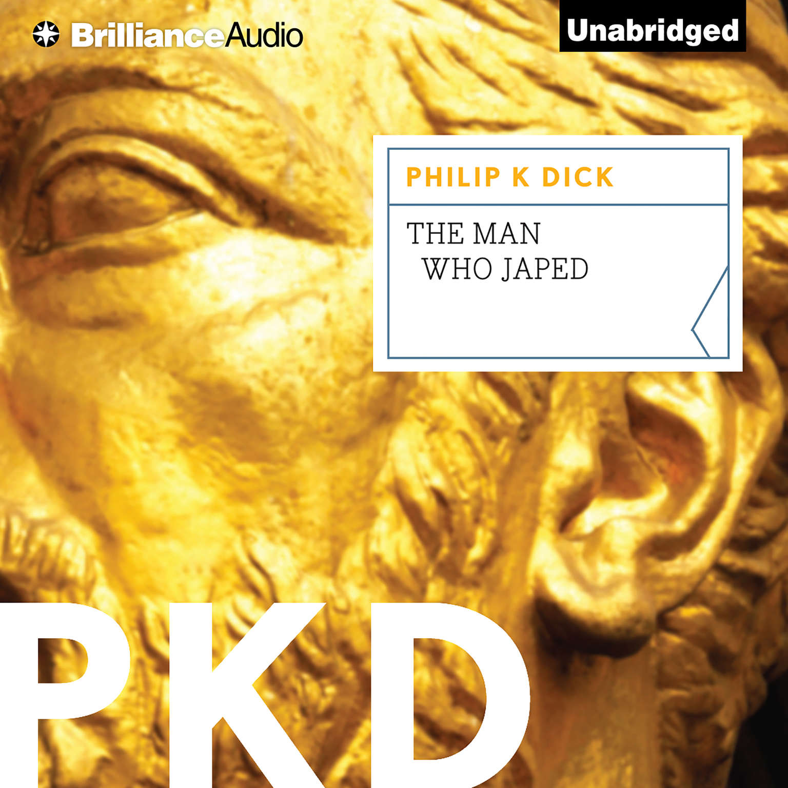 Printable The Man Who Japed Audiobook Cover Art
