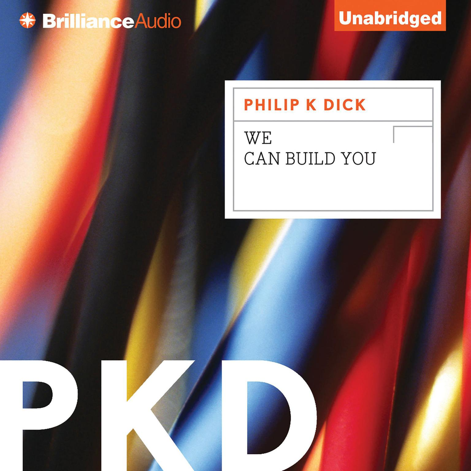 Printable We Can Build You Audiobook Cover Art