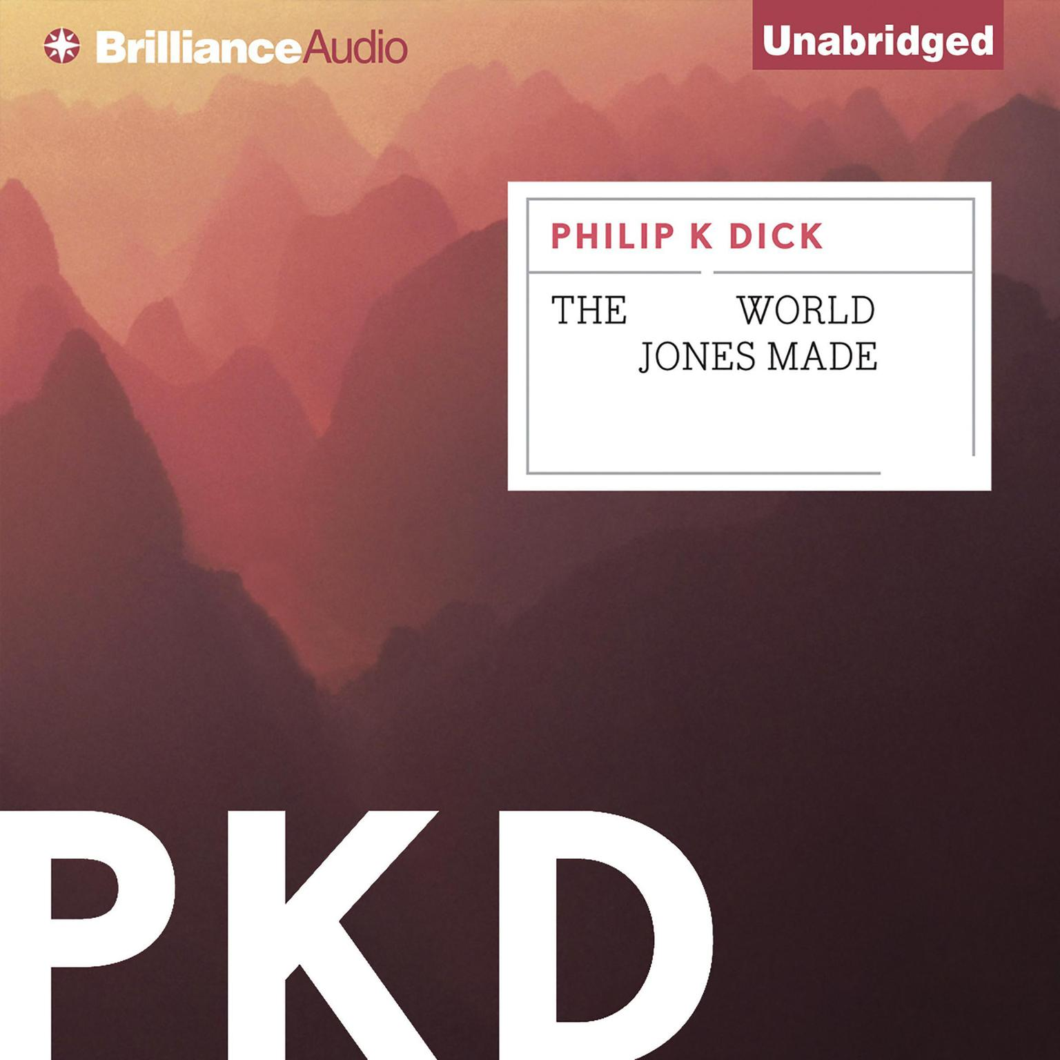 Printable The World Jones Made Audiobook Cover Art