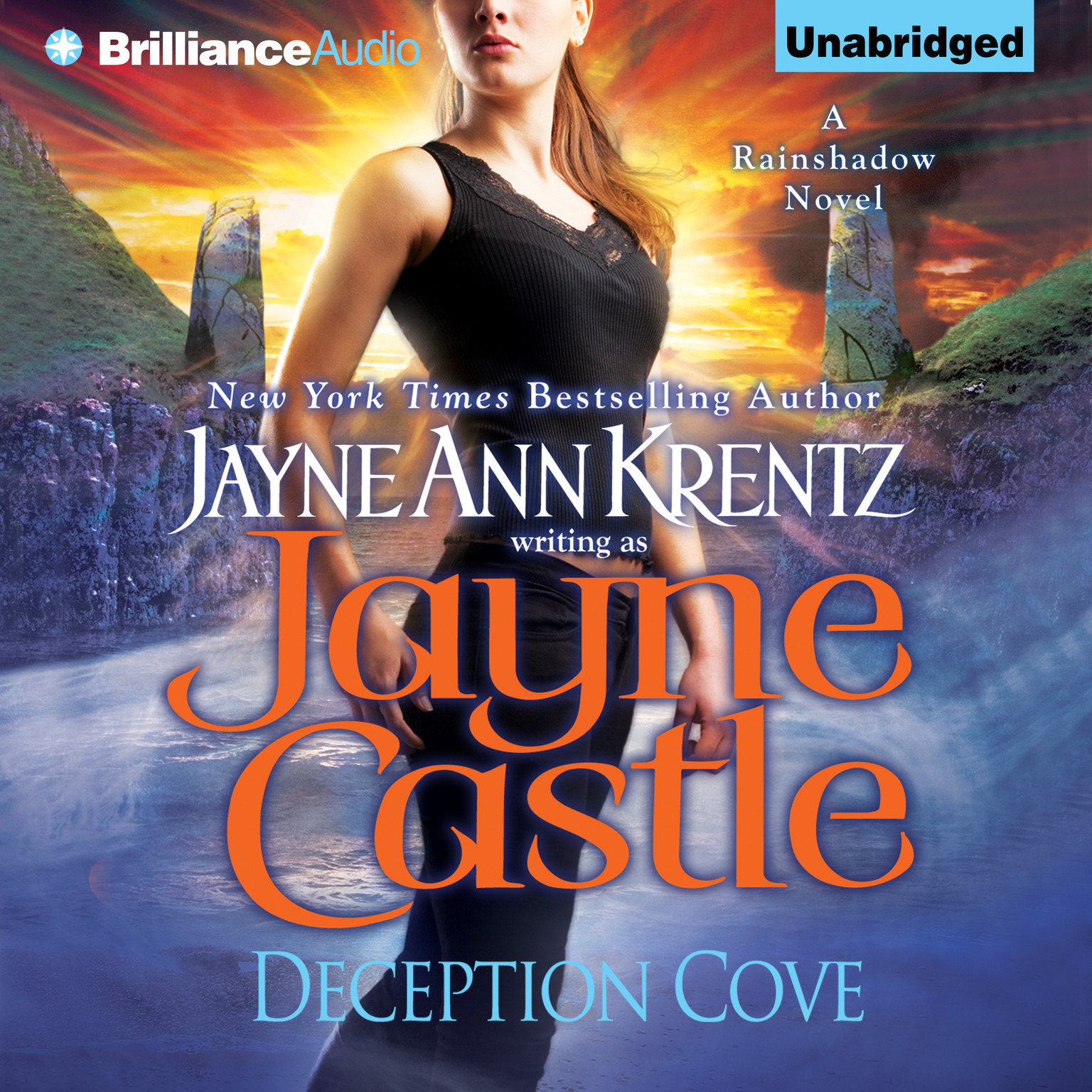 Printable Deception Cove Audiobook Cover Art